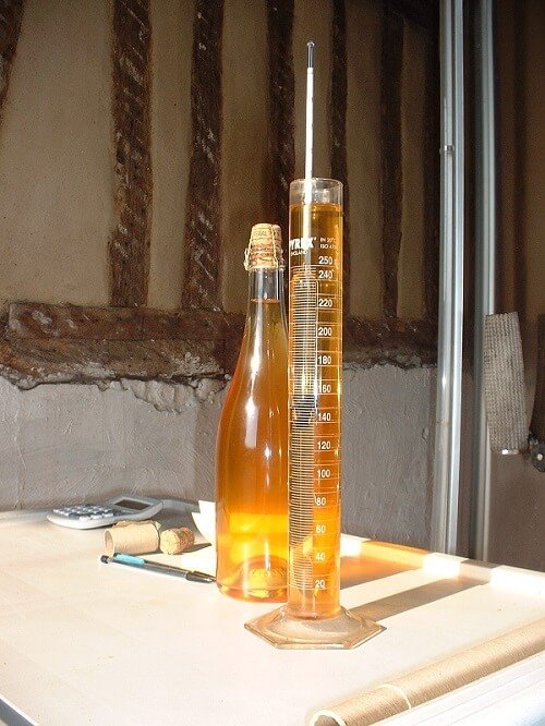 Ciderfremstilling - Kort gæring