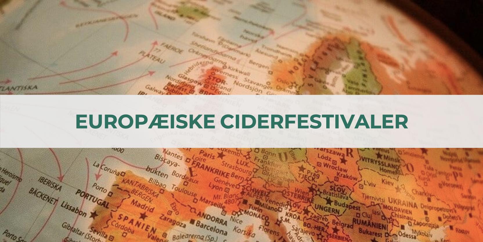 Europæiske ciderfestivaler