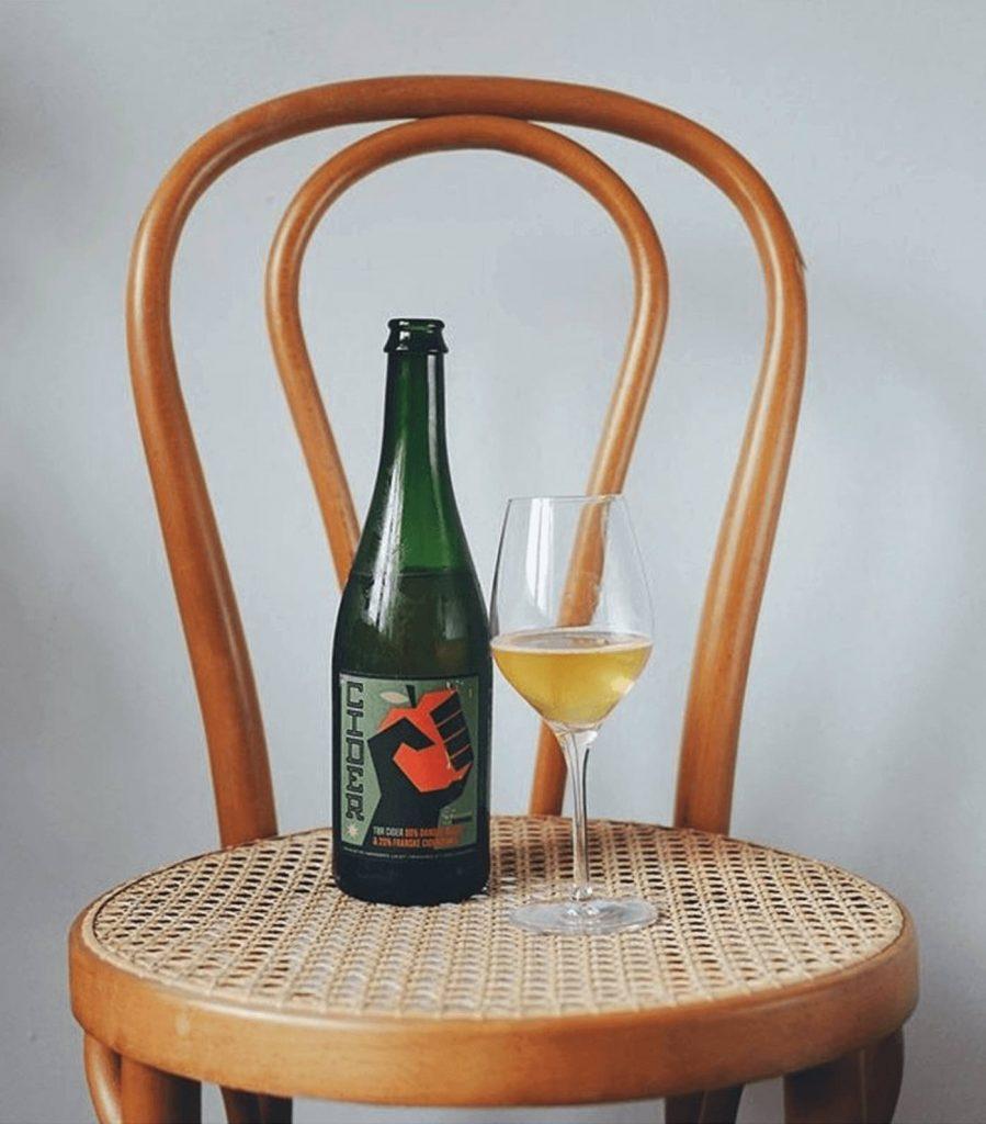 Cider på stol